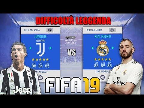 PRIMA PARTITA SU FIFA 19!! + DIFFICOLTÀ LEGGENDA!! RONALDO TORNA A MADRID!! | FIFA 19 GAMEPLAY #1