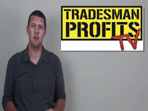 Tradesman Marketing Tip #4 of #10 -Advertising for Builders,Plumbers, Electricans