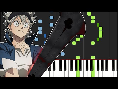 Black Clover ED 10    New Page - Intersection Piano Tutorial
