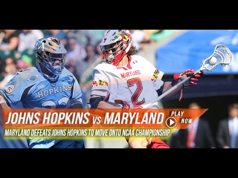 Johns Hopkins vs Maryland | Post Game Reactions | 2015 College Lacrosse