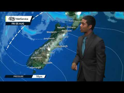 MetService forecast