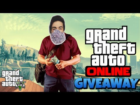 GTA V: LIVESTREAM + GIVEAWAY + NIPSLIPS