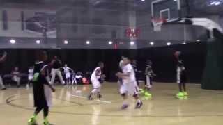 3rd grade basketball player blake yamada point guard arc 9u aau nationals