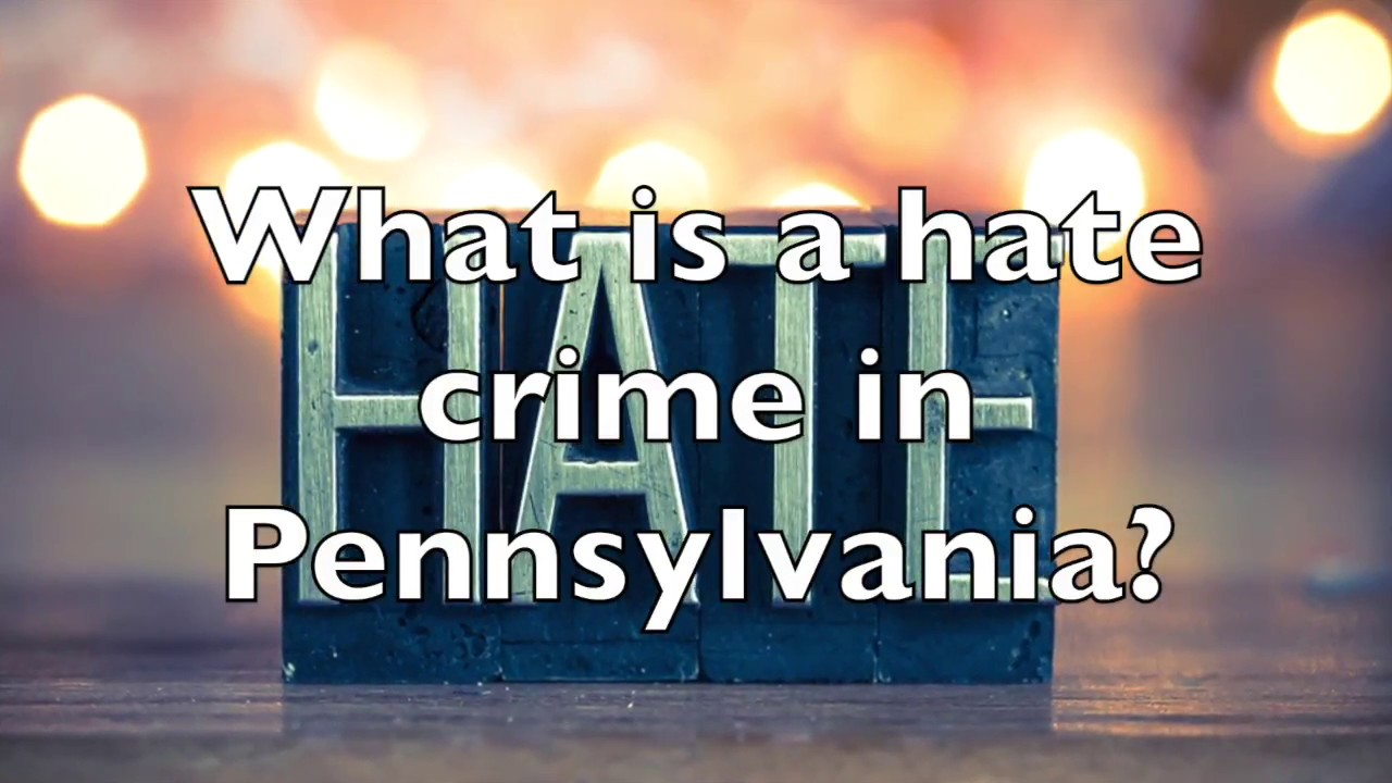 In Pa , hate crime convictions continue to be an