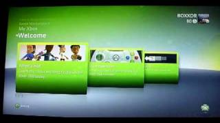 JTAG XBReboot Xbox 360 demonstrated by BOXXDR - X360 games from harddrive with no disc