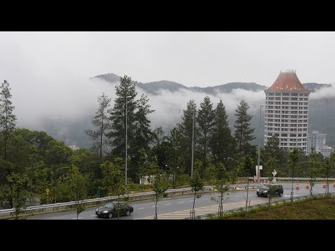 Visitors enjoy temperature dip in Genting Highlands