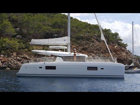 New Lagoon 42 trip Les Sables-Ibiza