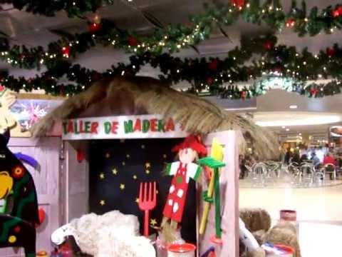 decoracion de stand navideno