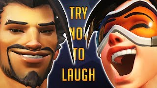 Try Not to Laugh - Overwatch Edition