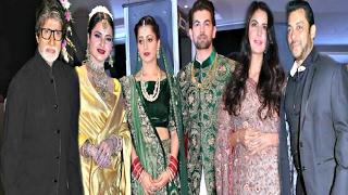 Neil Nitin Mukesh Wedding Reception Full HD - Salman Khan, Katrina Kaif, Rekha, Amitabh Bachchan