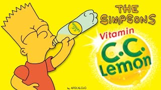 The Simpsons - CC Lemon Commecial Japan ONLY (2000-2002) CCレモン シンプソンズ