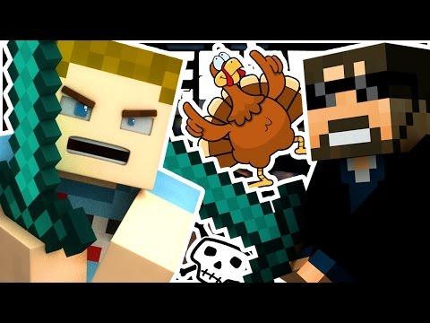 Minecraft | THE BEST TURKEY KILLER!! W/ SSundee