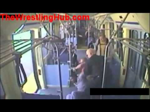 WWE Wrestler Shawn Daivari Chokes Drunk Passenger Out on Train
