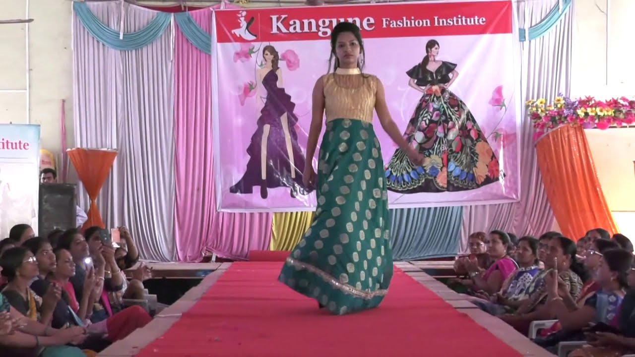 Fashion Show In Aurangabad 2019 Kangune Fashion Youtube