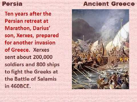 The Greco-Persian Wars and the Battle of Marathon - reading lesson for kids