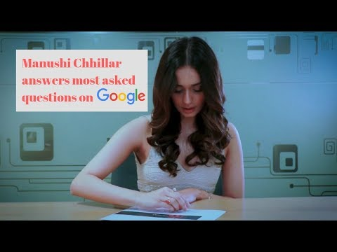 Manushi Chhillar Answers Most Asked Questions On Google