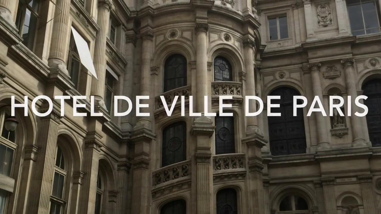 Hôtel de ville de paris journée du patrimoine bureau du maire
