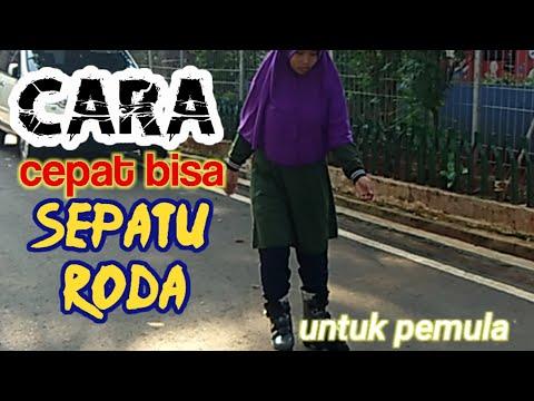 Ternyata Susah Main Sepatu Roda 😔 Play Roller Skates.