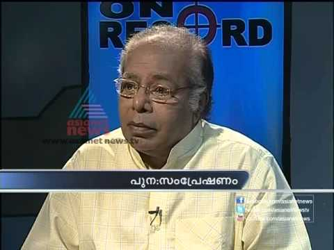 Thilakan : On Record  Sep 24 Part 1.