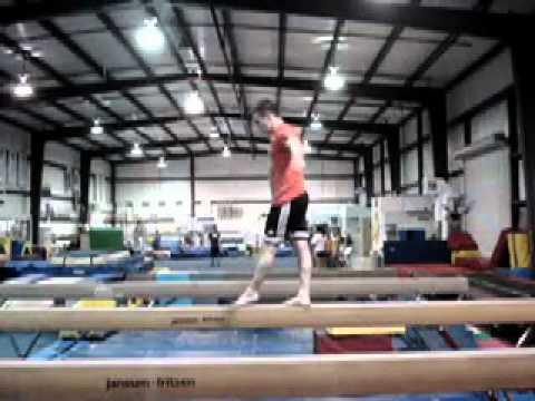 Adam Menzies Trampoline/Gymnastics Demo 2011