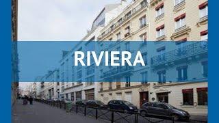 RIVIERA 3* Франция Париж обзор – отель РИВЬЕРА 3* Париж видео обзор