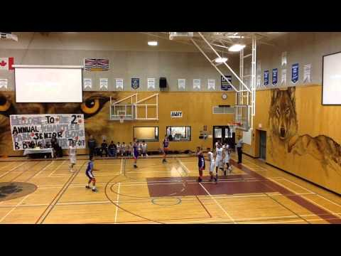 McNair Marlins vs. L.A. Matheson Mustangs - Game 1 of Kwantlen Park Tip-Off Tournament 2014