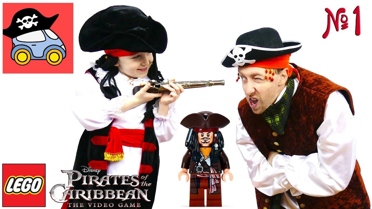 ⛵️ #1 ПОРТ-РОЙАЛ Лего пираты Карибского моря Проклятие Чёрной Жемчужины Жестянка