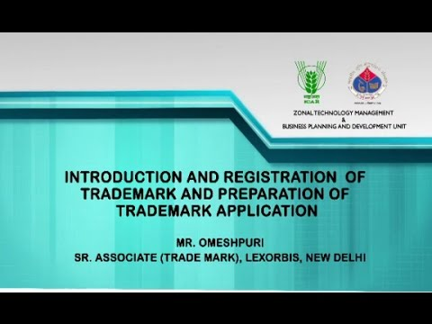 Introduction and Registration of Trademark and Prepration of Trademark Application