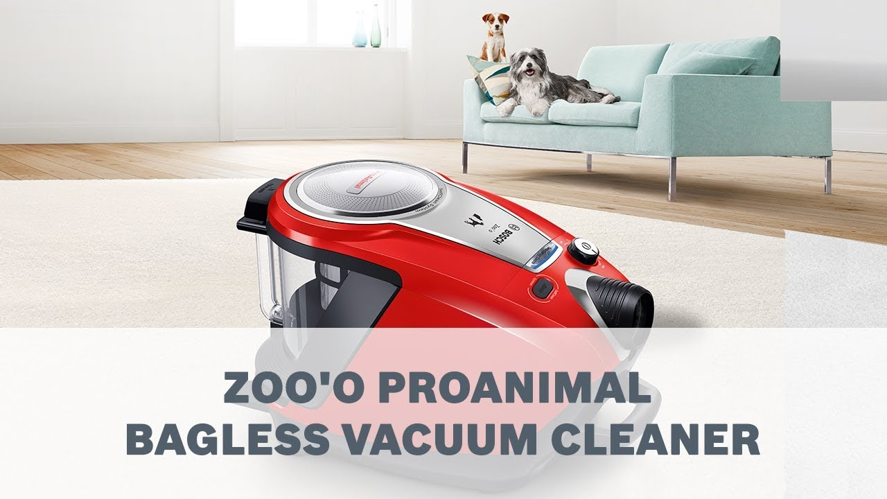 Introducing Bosch Zoou0027o Power Pet Hair Vacuum Cleaner