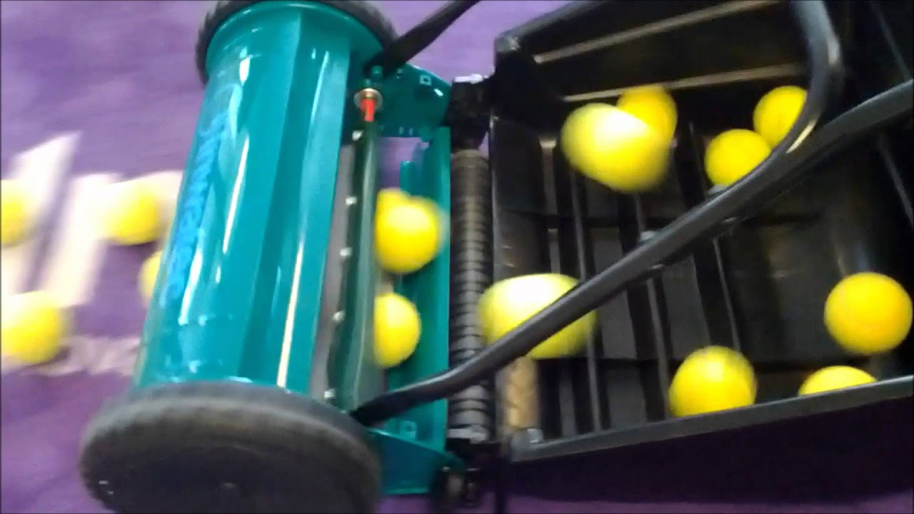 Inwatec Tennis Ball Collector Www Inwatec Dk Youtube
