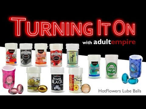 HotFlowers Lube Balls- Turning It On with Adult Empire