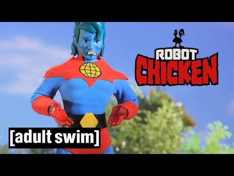 3 Captain Planet Moments | Robot Chicken | Adult Swim