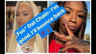 🚨 Graphic 🚨 Rocky B (Rocky Badd) responds to Cuban Doll chain snatching, Dog Cage incident
