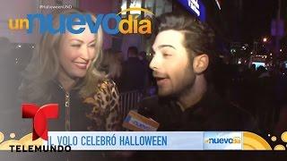 ¡Llevamos al trio Il Volo a una fiesta de Halloween! | Un Nuevo Día | Telemundo