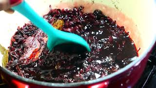 Sorrel (Roselle) or Hibiscus Concentrate/Syrup | Taste of Trini