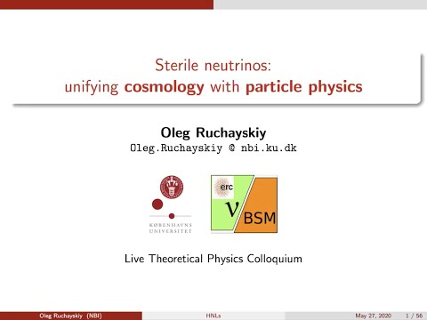 Sterile Neutrinos: Unifying Cosmology With Particle Physics