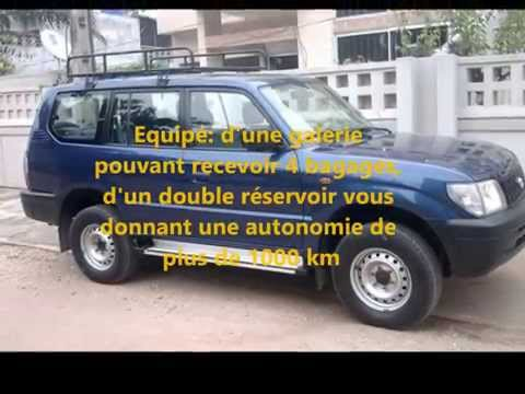 Location Cotonou: Toyota Land Cruiser