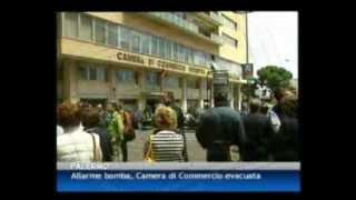 14/05/12 - Allarme bomba, Camera di Commercio evacuata