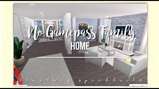 Roblox   Bloxburg   No Gamepass Family Home