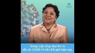 Tổ chức Y tế Thế giới thông tin về các giai đoạn thử nghiệm lâm sàng vắc-xin COVID-19