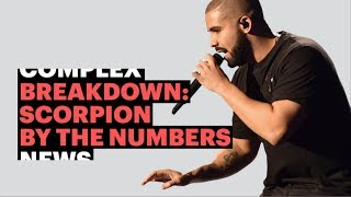 Drake's Scorpion Album By The Numbers