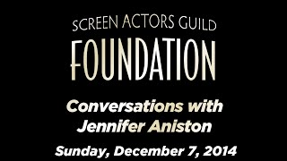 Conversations with Jennifer Aniston