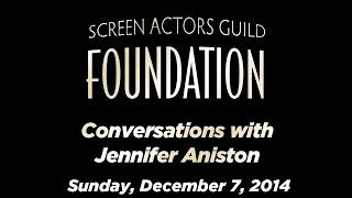 Conversations with Jennifer Aniston