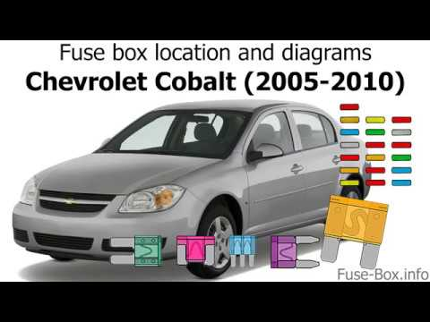 fuse box location and diagrams: chevrolet cobalt (2005-2010) - youtube  youtube
