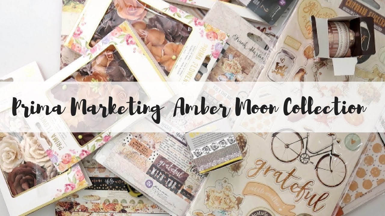Prima Marketing Amber Moon Flowers-Willow