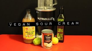 "Nutribullet Rx ""vegan Sour Cream"" Nut Free Recipe"