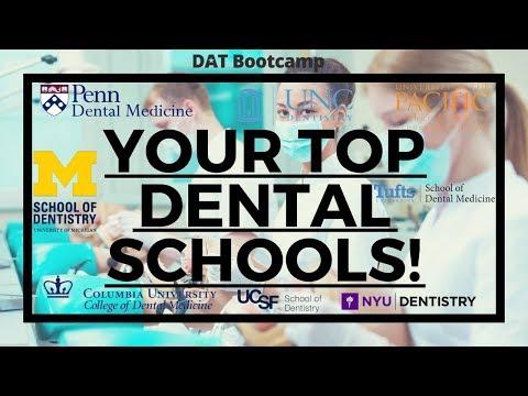 Your Top Dental Schools In Detail!