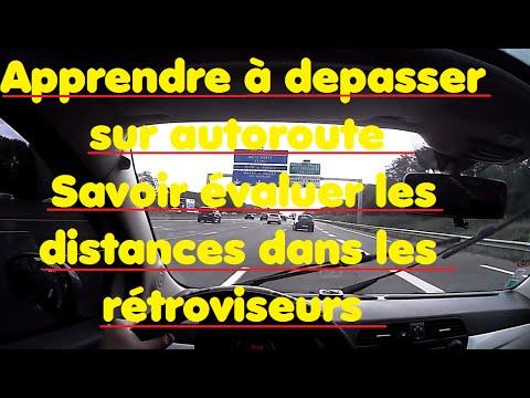 Savoir évaluer les distances dans les rétroviseurs (autoroute& changement de file)