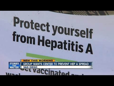 Hepatits A outbreak ravages San Diego homeless population
