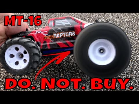 It Was Doing So Well! Massive Design Fail! ZD Racing MT-16 Brushless RC Monster Truck.